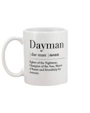 Dayman - Fighter of the Nightman Mug back
