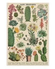Cacti and Succulents Puzzle 250 Piece Puzzle (vertical) front
