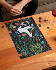 Reading Unicorn 250 Piece Puzzle (vertical) aos-jigsaw-puzzle-250-pieces-vertical-lifestyle-front-01