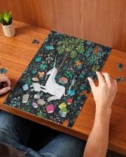 Reading Unicorn 250 Piece Puzzle (vertical) aos-jigsaw-puzzle-250-pieces-vertical-lifestyle-front-05