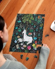 Reading Unicorn 250 Piece Puzzle (vertical) aos-jigsaw-puzzle-250-pieces-vertical-lifestyle-front-13