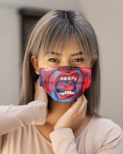 Court of the crimson king Cloth face mask aos-face-mask-lifestyle-18