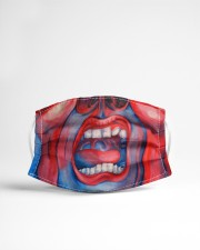 Court of the crimson king Cloth face mask aos-face-mask-lifestyle-22