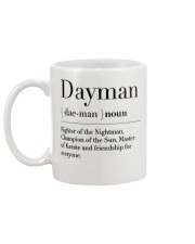 Dayman - Fighter of the Nightman Mug back