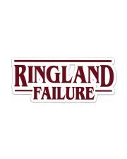 Ringlanf Failure Sticker - Single (Horizontal) front