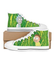 Exclusive Edition Rick and Morty Men's High Top White Shoes tile