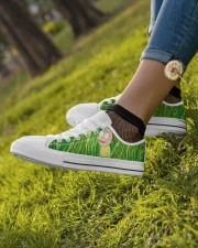 Exclusive Edition Rick and Morty Women's Low Top White Shoes aos-complex-women-white-low-shoes-lifestyle-04