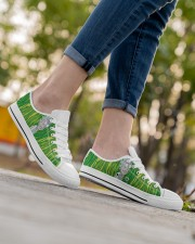Exclusive Edition Rick and Morty Women's Low Top White Shoes aos-complex-women-white-low-shoes-lifestyle-08