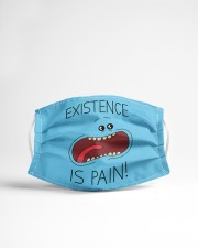 Existence is pain Cloth face mask aos-face-mask-lifestyle-22