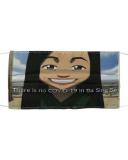 There is no covid 19 in ba sing se Cloth face mask front