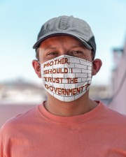 Mother should I trust the government Cloth face mask aos-face-mask-lifestyle-06