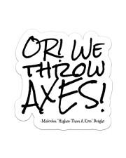AXES Sticker - Single (Vertical) front