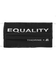 Equality thorne Cloth face mask front