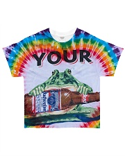 Your pad All-over T-Shirt front