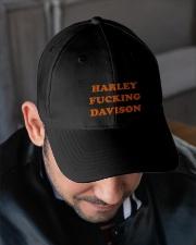 Harley davison Embroidered Hat garment-embroidery-hat-lifestyle-02