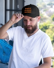 Harley davison Embroidered Hat garment-embroidery-hat-lifestyle-05