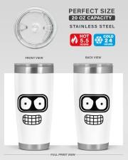 Exclusive Edition Futurama 20oz Tumbler aos-20oz-tumbler-lifestyle-front-60