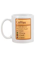 Coffee It Smells Delicious Mug back