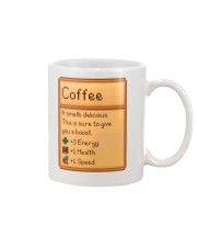 Coffee It Smells Delicious Mug front