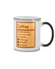 Coffee It Smells Delicious Color Changing Mug tile