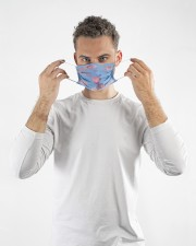 Kirby Fling On Sky Cloth face mask aos-face-mask-lifestyle-08