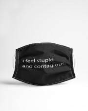 I-feel-stupid-and-contagious Cloth face mask aos-face-mask-lifestyle-22