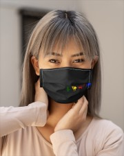 Divine Beasts Cloth face mask aos-face-mask-lifestyle-18
