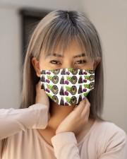 Bears Battlestar Galactica Beets Cloth face mask aos-face-mask-lifestyle-18