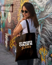 My favorite color Tote Bag lifestyle-totebag-front-1