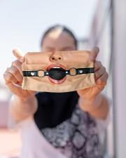 Ball Gag Cloth face mask aos-face-mask-lifestyle-07