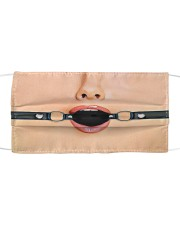 Ball Gag Cloth face mask front