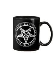 Black craft cult Mug front