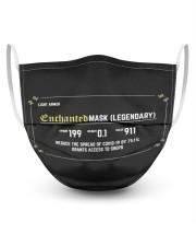 Legendary 3 Layer Face Mask - Single thumbnail