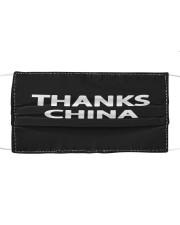 Thanks China Cloth face mask front