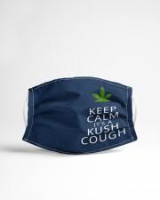 Keep calm it's a kush cough Cloth face mask aos-face-mask-lifestyle-22