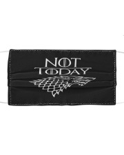 Not-Today Cloth face mask front
