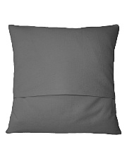 He is tired Square Pillowcase back