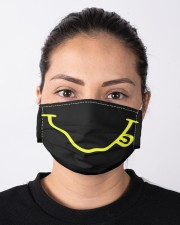 The smiley face Cloth face mask aos-face-mask-lifestyle-01