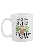Slothee need a coffee Mug back