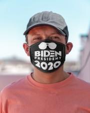 BIDEN PRESIDENT Cloth face mask aos-face-mask-lifestyle-06