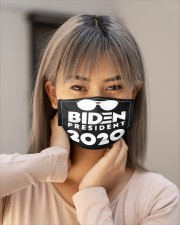 BIDEN PRESIDENT Cloth face mask aos-face-mask-lifestyle-18