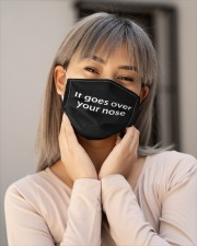 It goes over your nose Cloth face mask aos-face-mask-lifestyle-17