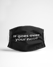 It goes over your nose Cloth face mask aos-face-mask-lifestyle-22