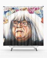 ANGEL LU Shower Curtain aos-shower-curtains-71x74-lifestyle-front-02a