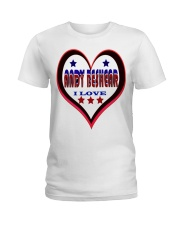 I LOVE ANDY BESHEAR Ladies T-Shirt tile