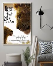 NEVER FORGET WHO YOU ARE 11x17 Poster lifestyle-poster-1