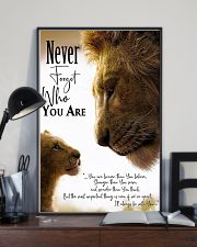 NEVER FORGET WHO YOU ARE 11x17 Poster lifestyle-poster-2