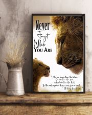 NEVER FORGET WHO YOU ARE 11x17 Poster lifestyle-poster-3