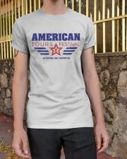Official American Tours Festival 2020 T Shirt Classic T-Shirt apparel-classic-tshirt-lifestyle-21