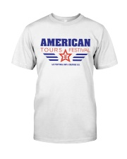 Official American Tours Festival 2020 T Shirt Classic T-Shirt front